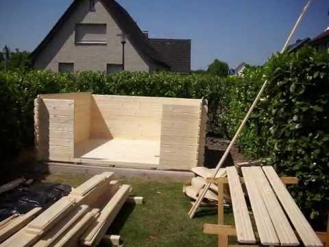 Blockhaus bauen youtube for Blockhaus bauen