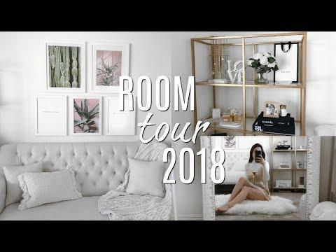 ROOM TOUR 2018 (Aesthetic Parisian GLAM Room!)