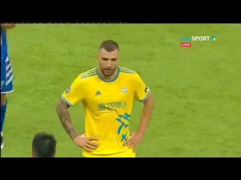 Астана - Сутьеска. Обзор матча