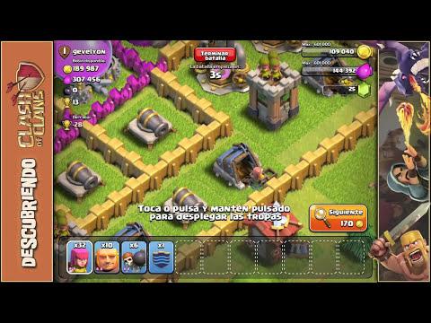 Mejorar todo antes de subir el ayuntamiento - Empezando Clash of Clans con Android #5 [Español]