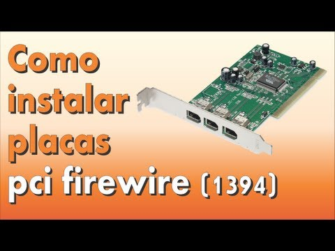 Placa Pci Firewire 1394