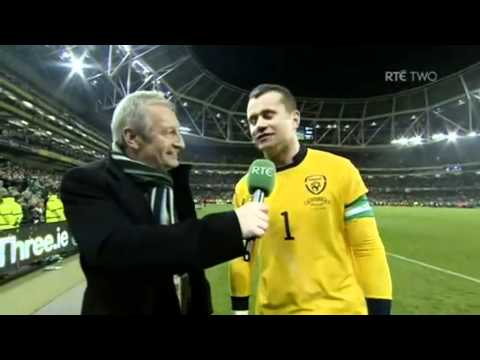 Euro 2012 Rep of Ire v Estonia: Shay Given Interview