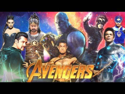Avengers: Infinity War Trailer | INDIAN MOVIES VERSION | Shah Rukh Khan, Salman Khan,  Aamir Khan HD