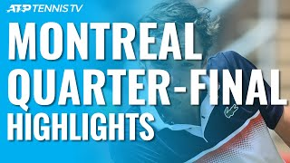 Nadal Reaches Semis; Khachanov, Medvedev To Face Off | Montréal 2019 Quarter-Final Highlights