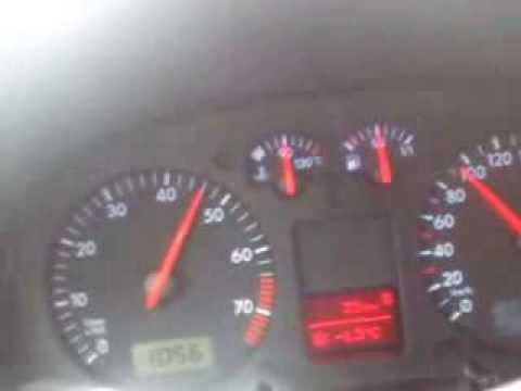 2000 Volswagen Golf 4 1.6 SR 8v acceleration 50 - 140 kmh