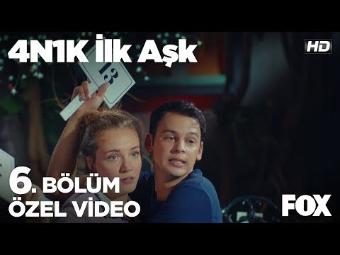 Sinan ve Ece, Ali için açık arttırmada!  4N1K İlk Aşk 6. Bölüm