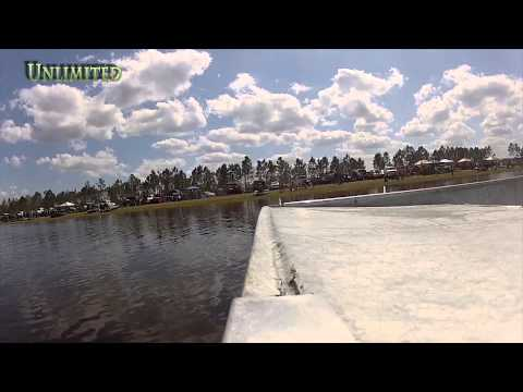March 2014 Airboat Race at Hog Waller Video
