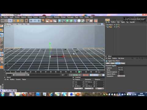 1#Tutorial Come fare una bella intro Stile Tornado in 3D con Cinema  4D 1 Parte ITA