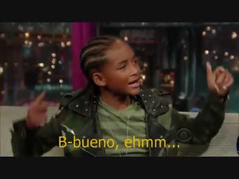 Entrevista [subtitulada al español] a Jaden Smith en el show de David Letterman