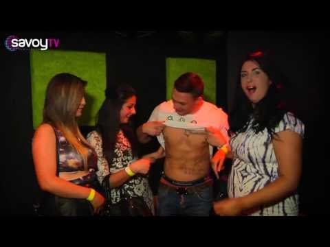 Savoy Glasgow - Kirk Norcross from TOWIE - Filmed by Rikki @ UXXV Media