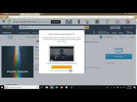 Uploading Music From Amazon to your MP3 Player