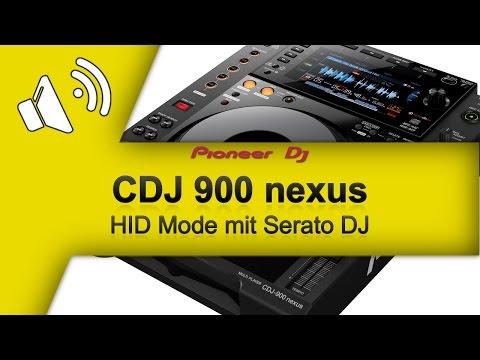 TUTORIAL Pioneer CDJ 900 Nexus im HID Mode mit Serato DJ (GER/DEU)