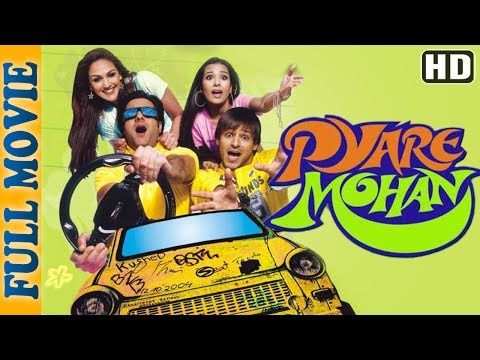 Pyare Mohan (HD) - Full Movie - Vivek Oberoi- Fardeen Khan - Superhit Comedy Movie thumbnail