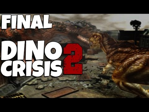 Dino Crisis 2 - The Final Episode: T.rex Vs. Giganotosaurus