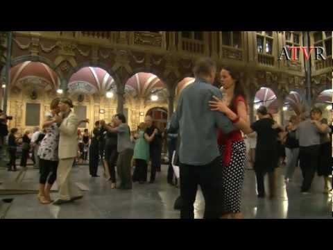 Reportage Tango Argentin à la vieille bourse Lille --DIRECT NEWS--