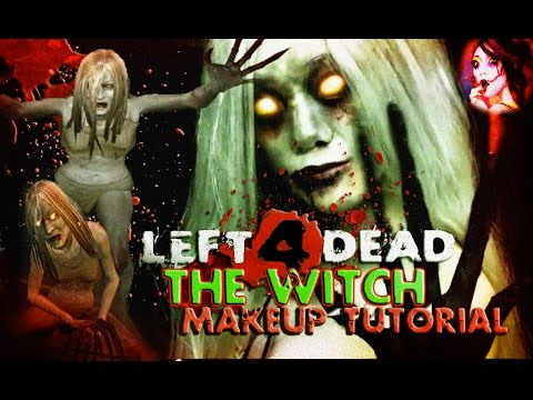 Left 4 Dead: The Witch ☠ A Horror Makeup Tutorial ☢