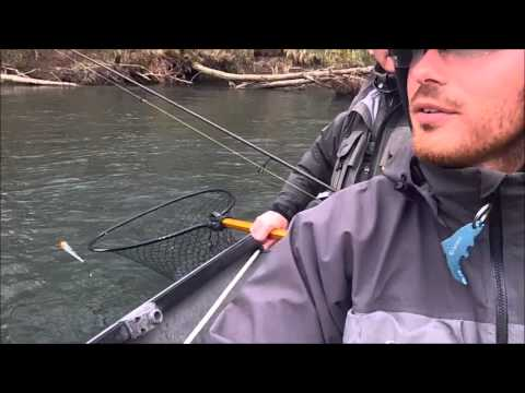Steelhead fishing the Olympic Peninsula with JP's Guide Service