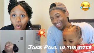 PEWDIEPIE- JAKE PAUL IN THE TITLE **REACTION**