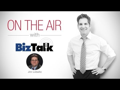 "Grant Cardone Talks ""THE 10X RULE"" on Biz Talk Radio with Jim Lobaito"