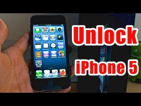 How To Unlock iPhone 5 - Works for all versions!