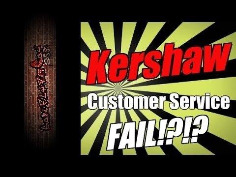 Kershaw Customer Service SUCKS!
