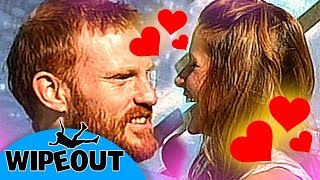 Love is in the air 😍| Funny Clip | Total Wipeout Official