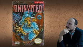 "Gaming History: Uninvited ""Good Horror Game for the '80s, better interface forever"""