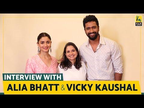Alia Bhatt and Vicky Kaushal Interview with Anupama Chopra   Raazi   Film Companion thumbnail
