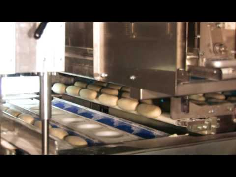 Automatic Bun Divider Dough Rounder Bread Roll Line
