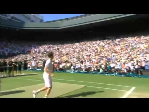 Andy Murray Winning Moment Wimbledon 2013
