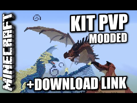 Minecraft PS3 - KIT PVP - MODDED MAP - REVIEW + DOWNLOAD LINK ( PS4 / XBOX )