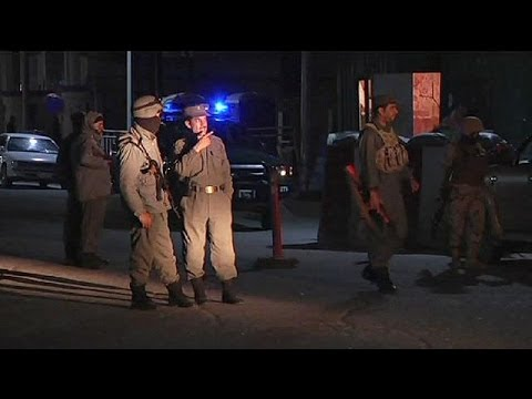 Afghan forces shoot dead three gunmen in hotel attack