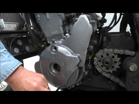 KLR650 Balancer Adjustment Lever (doohickey) Replacement Video 1
