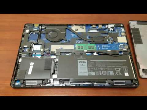 Dell Latitude 5580 - The Inside