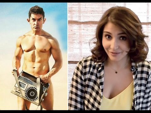 Anushka Sharma to Wear Transistor in PK Movies New Poster |...