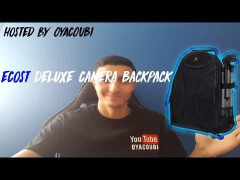 eCost Deluxe Camera Backpack for SLR / DSLR Cameras Review
