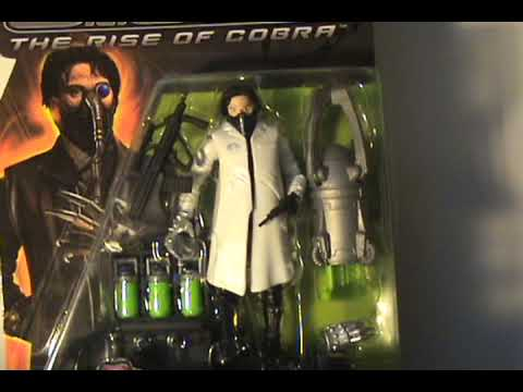 Rise of Cobra The Doctor white coat variant update