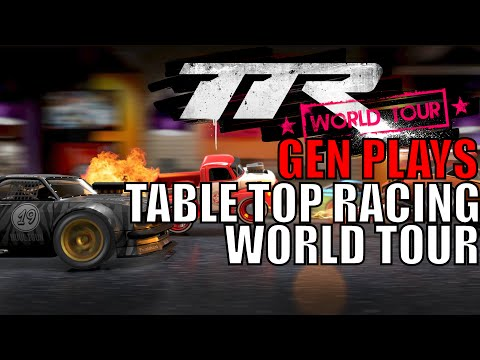 Table Top Racing World Tour | Gaming Entertainment Network Plays