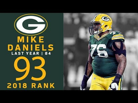 93: Mike Daniels DE Packers  Top 100 Players of 2018  NFL