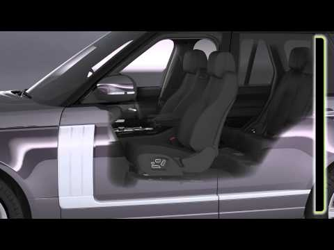 All-New Range Rover: Front Seat Adjustment and Driving Position Memory