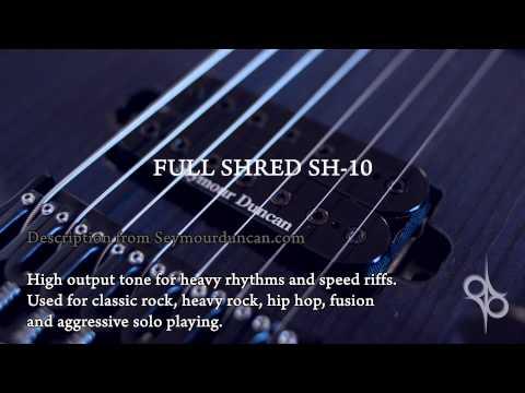 Seymour Duncan Pickup Comparison - Metal (Nazgul, Pegasus, Distortion, Full Shred, Blackouts etc)