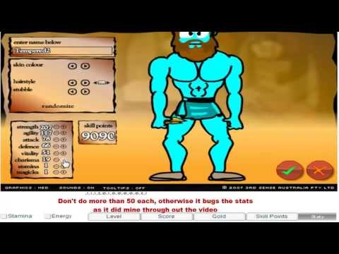 Swords and Sandals 2 Hacked - ArcadePreHacks