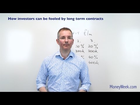 How investors can be fooled by long term contracts - MoneyWeek Investment Tutorial