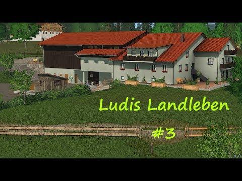 LS17 - Ludis Landleben #3 - Mapänderungen und Tiere versorgen