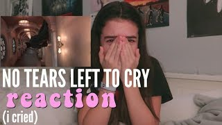 Download Lagu Ariana Grande - No Tears Left To Cry REACTION Gratis STAFABAND