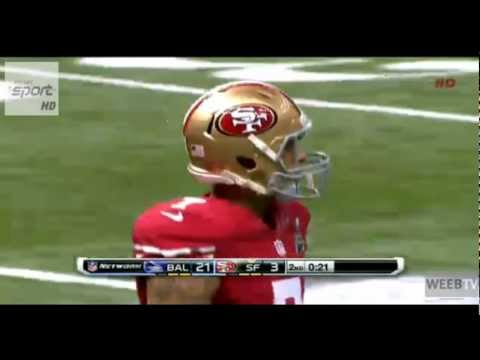 PITTA TOUCHDOWN SUPER BOWL 2013 San Francisco 49ers vs Baltimore Ravens 3-11 03-02-2013