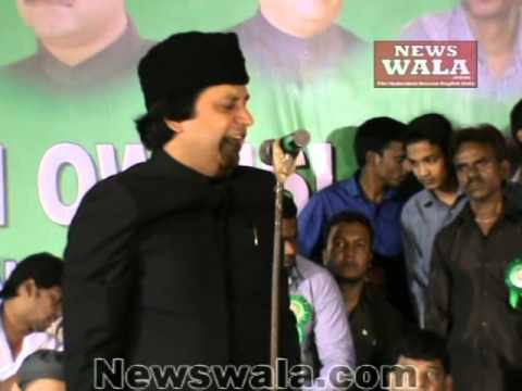 Ather Farooqui's speech at AIMIM public meeting at Nallagutta, Secunderabad