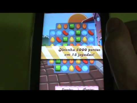 Gameplay Android - Candy Crush Saga - Samsung Galaxy Tab P6210 - PT-BR Brasil