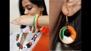 Independence Day DIY Project -Tricolor Accessories - DIY Life hacks