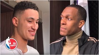 Kyle Kuzma & Rajon Rondo credit defense for Lakers' win against the Hornets | NBA on ESPN